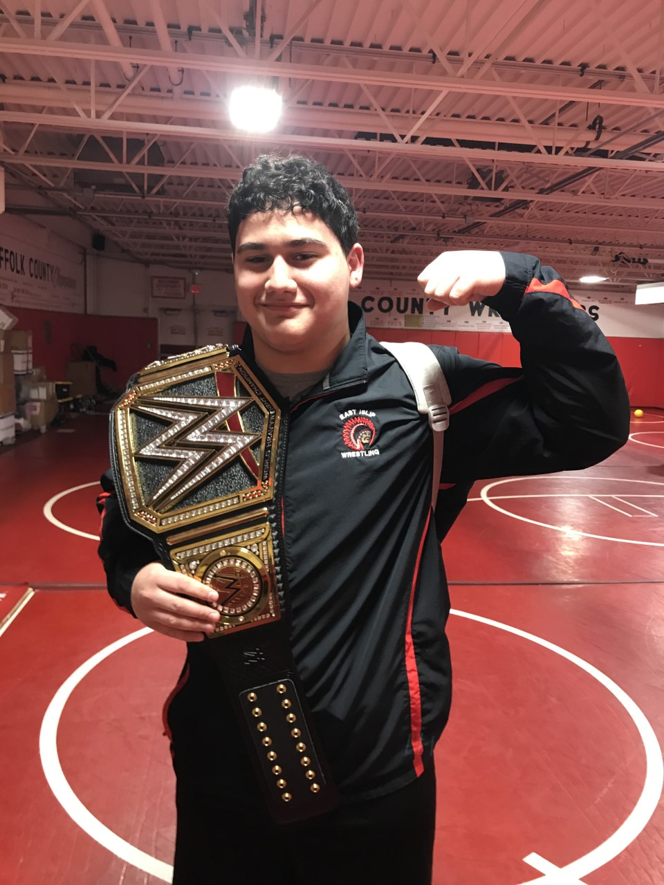 HS Wrestlers Earn League Title Default