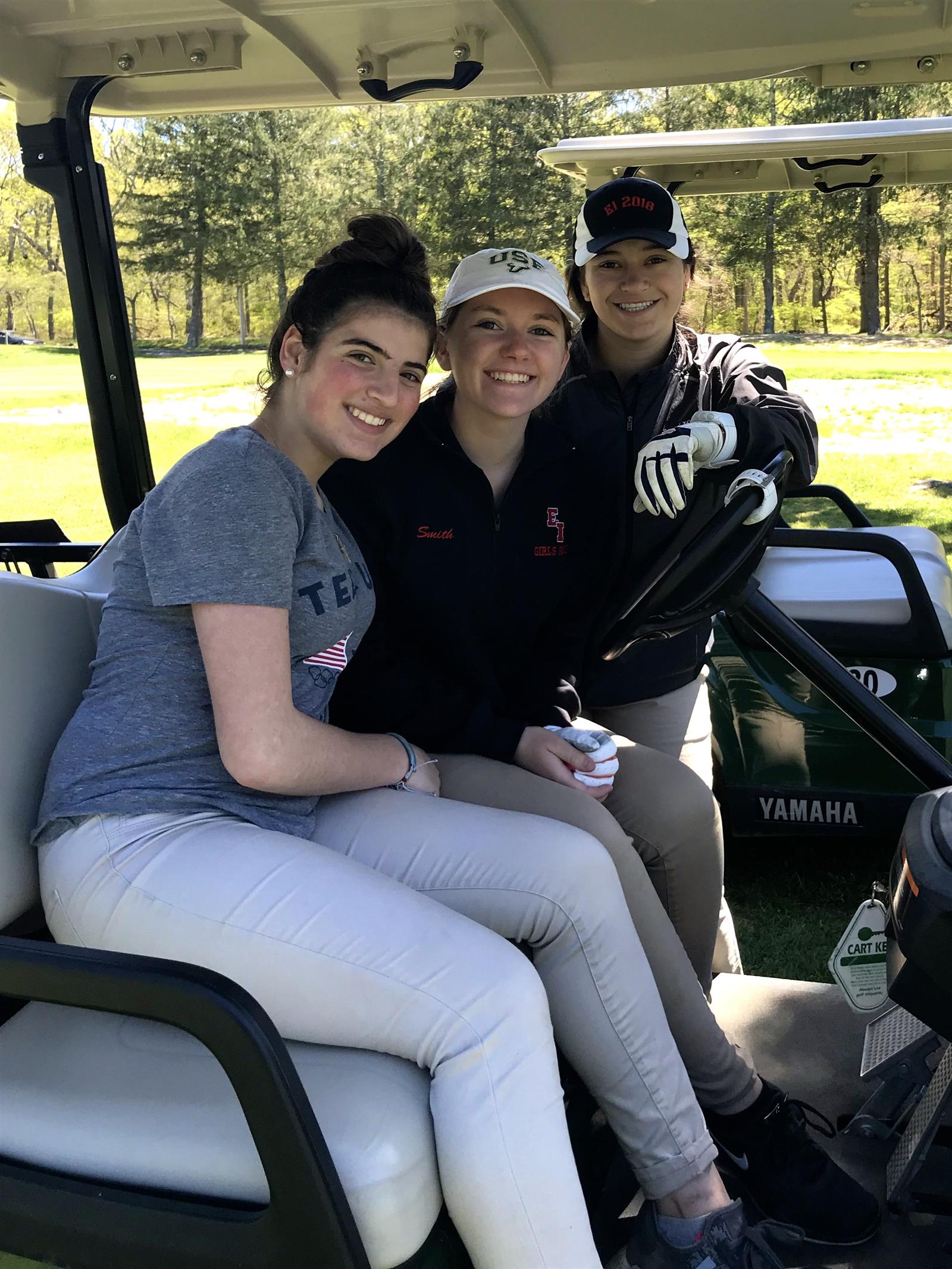 Girls Golfers Finish Second in League Default