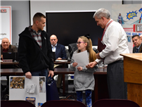 JFK Third Grader McKiernan Honored by Board for Charity Work