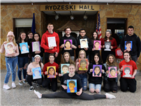 Memorable 'Memory' Experience for Art Honor Society