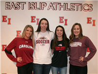 Four Senior Soccer Signings