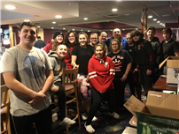 EI Bowlers Demonstrate the Spirit of Giving