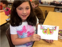Butterfly Lessons at RCK Integrate Art and Science