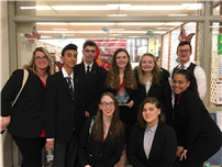 Mock Trial Team Makes Semifinals at Law Day Event 2