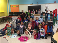 Timber Point Second-Graders Collect 153 Pairs for Pajama Program 3