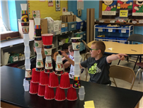 STEAM Brings Tower Technology to East Islip Elementaries